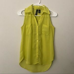 Green blouse - Small